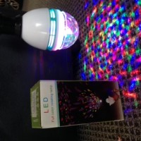 Party disco rotating bulb